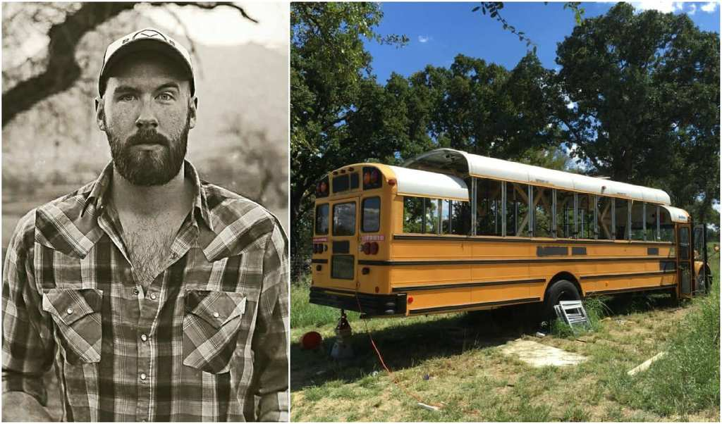 bus 50  sc 1 st  Noteabley & Man Gives Old School Bus The Most Incredible Makeover