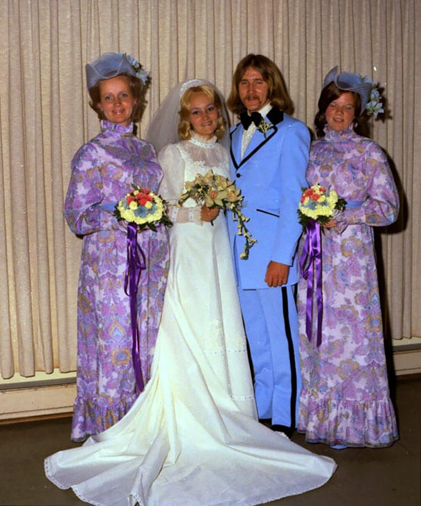 41cbba5eacd The Most Ridiculous Vintage Bridesmaid Dresses That Nobody Should ...