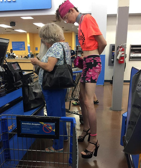 abff27a2d9ea Hilarious Photos That Real Walmart Shoppers Caught On Camera