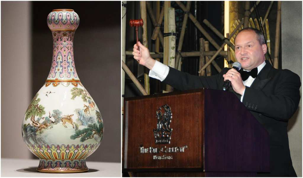 Antique Vase Found In Attic Goes On To Make Fortune At Auction