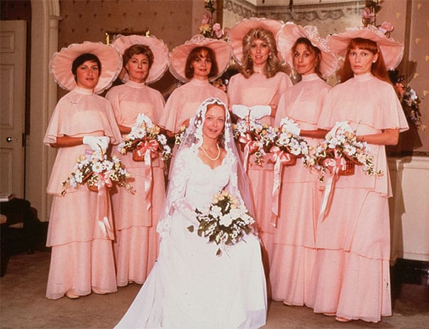 6f92816f3b77 Ridiculous Vintage Bridesmaid Dresses That Didn't Stand The Test Of Time