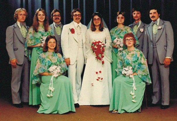 The Most Ridiculous Vintage Bridesmaid Dresses That Nobody