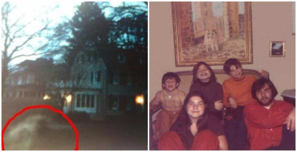 257853e00 The DeFeo family photo on the right was captured in 1976 at their home on  112 Ocean Avenue.