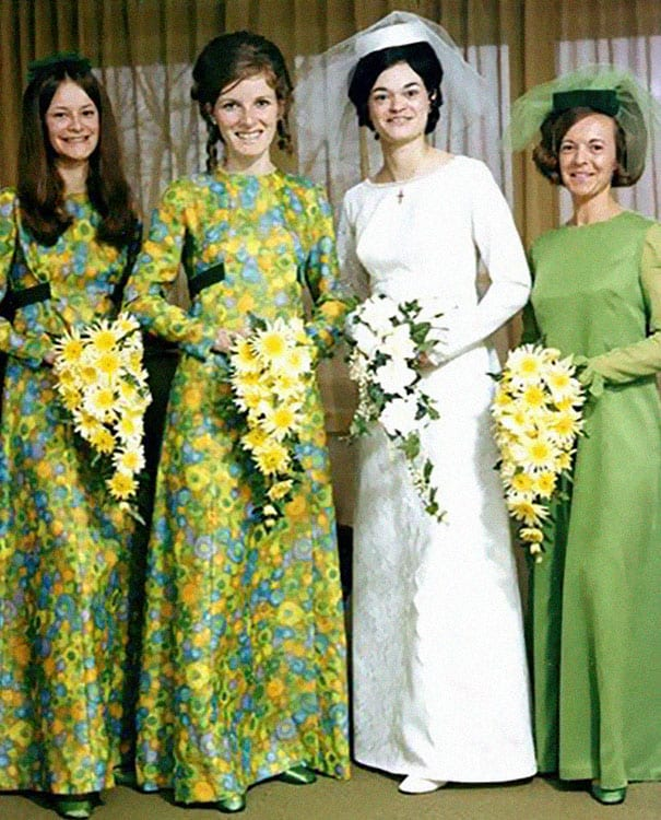 a9996717174 Ridiculous Vintage Bridesmaid Dresses That Didn t Stand The Test Of Time