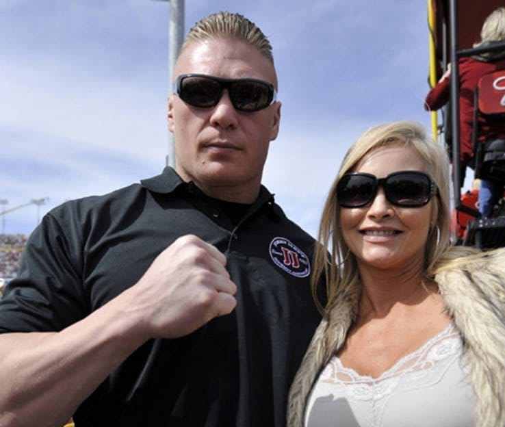 Image result for brock lesnar and wife