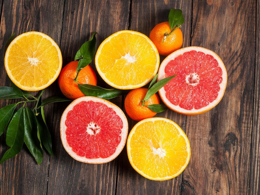 grapefruit & oranges