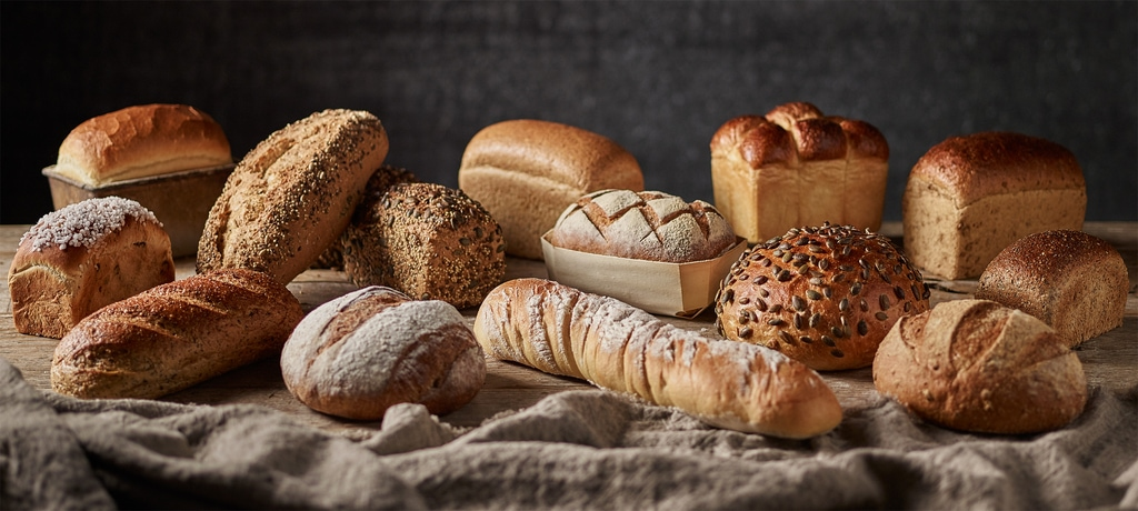 Bread in different shapes