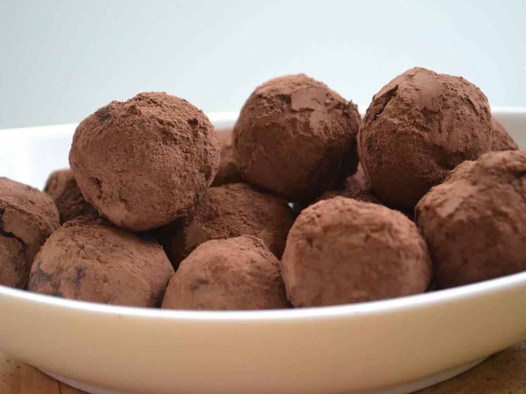 Chocolate Truffles Prep