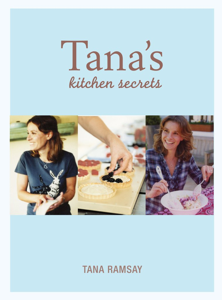 One of Tana Ramsay's cookbook covers