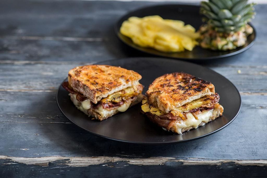 Pineapple Grilled Cheese Sandwich