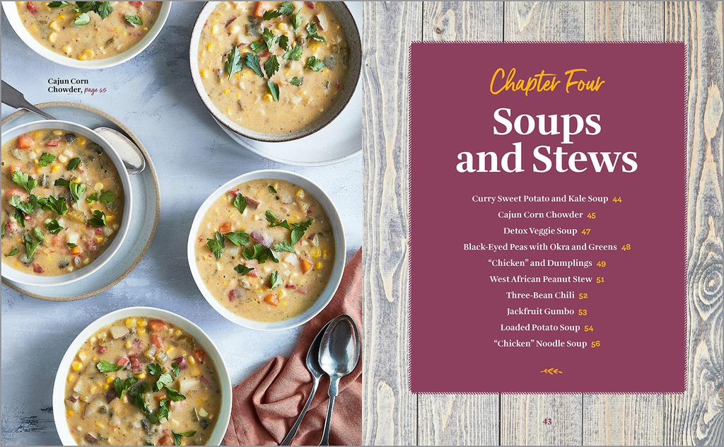A recipe from Nadira Jenkins-El's Vegan Soulfood Cookbook