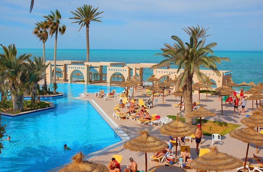 A beach resort at Zarzis