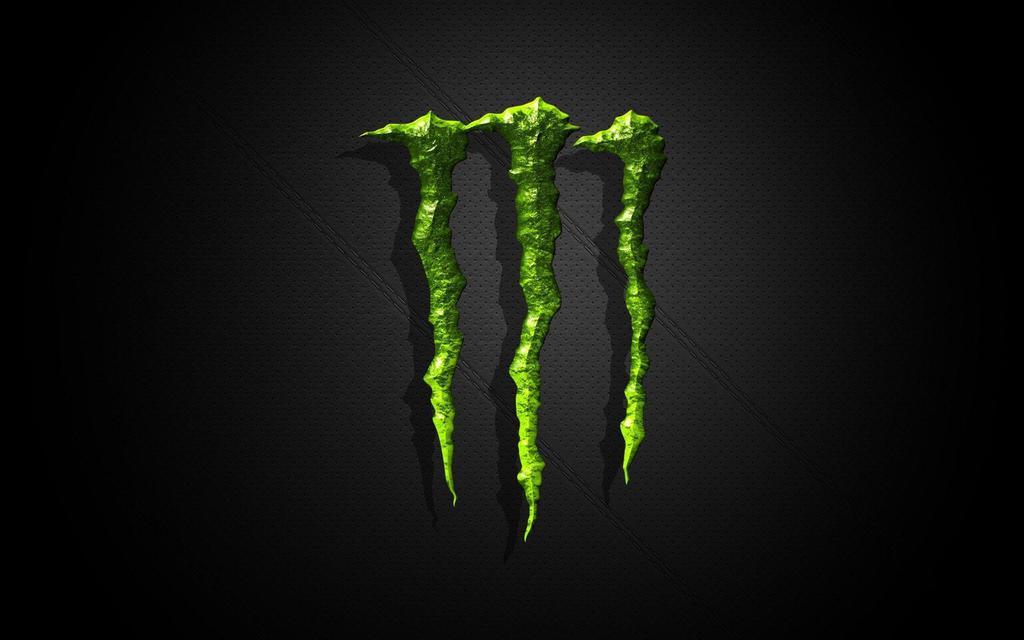 the Monster logo