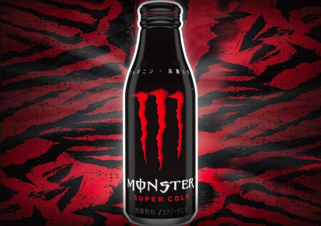 the new Monster Super Cola bottle