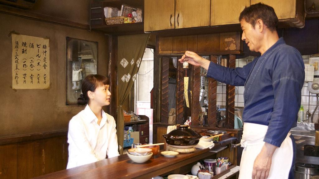 scene from the manga adaptation Midnight Diner